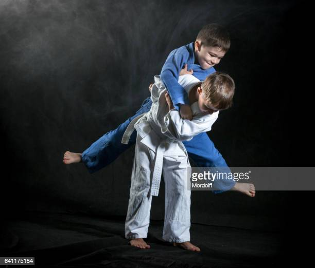 judo throws - judo stock photos and pictures
