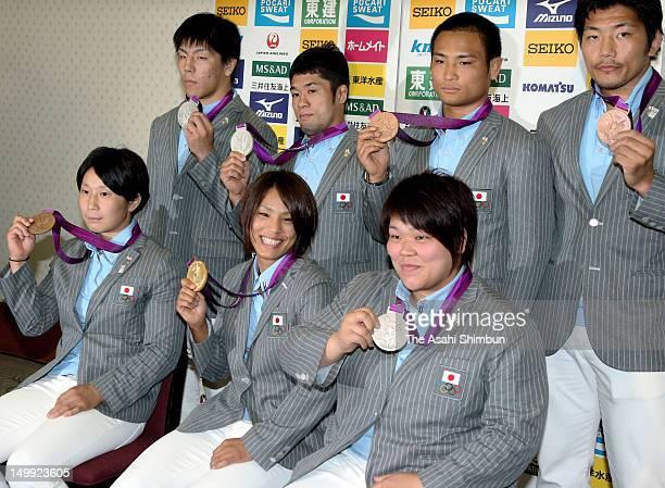 Judo women's 63kg Bronze medalist Yoshie Ueno women's 57kg gold medalist Kaori Matsumoto women's 78kg silver medalist Mika Sugimoto Men's 73kg Silver...