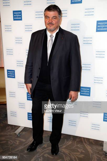 Judoka David Douillet attends Les Stethos D'Or 2018 Gala at Four Seasons Hotel George V on March 19 2018 in Paris France