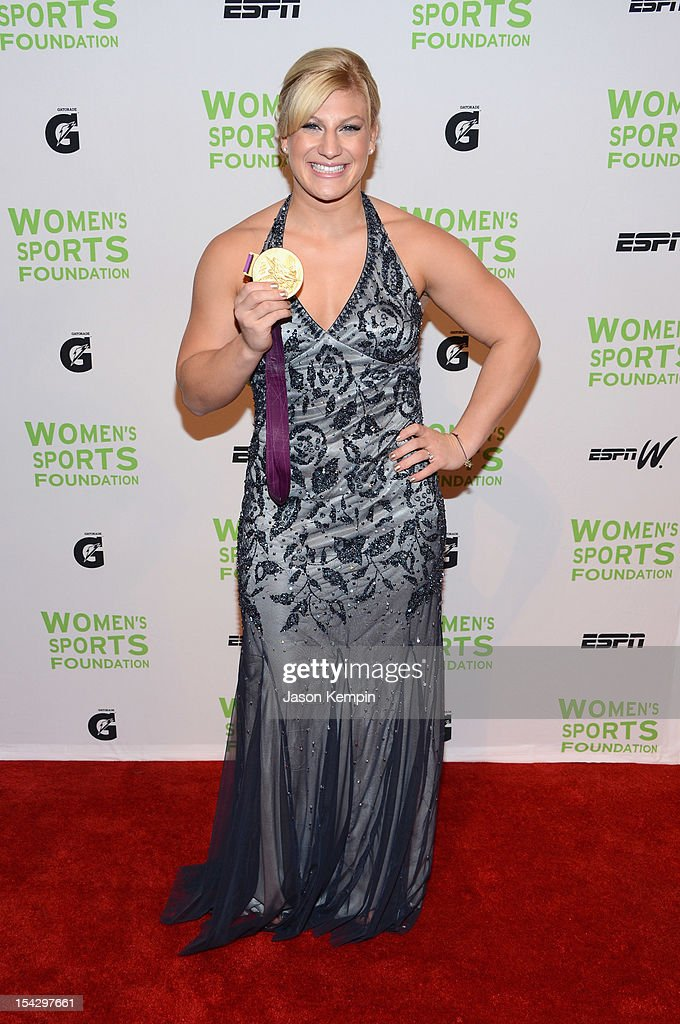 Judoka Kayla Harrison attends the 33rd Annual Salute To Women In Sports Gala at Cipriani Wall Street on October 17, 2012 in New York City.