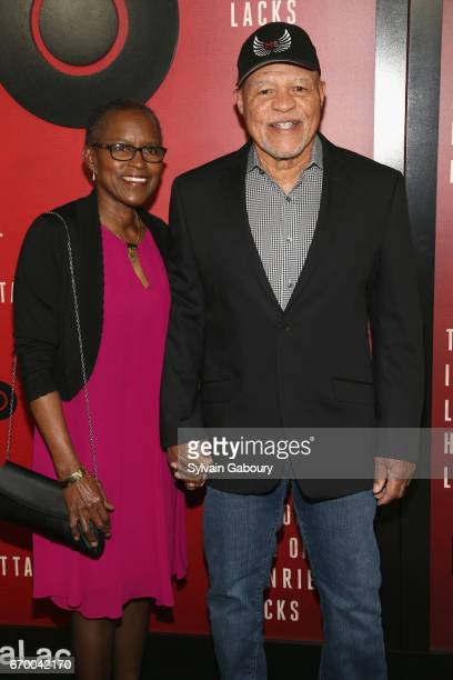 Judy Beasley and John Beasley attend The Immortal Life Of Henrietta Lacks New York Premiere on April 18 2017 in New York City
