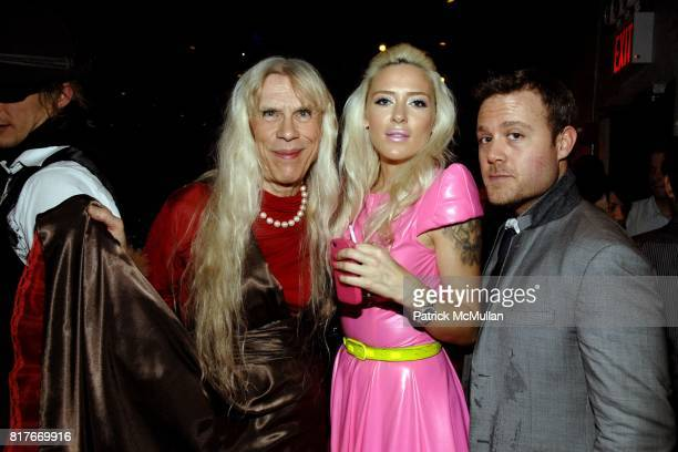 Judy Bee Misfit Dior and Tristan Prescott attend DAVID BARTON SUSANNE BARTSCH host ANNUAL TOY DRIVE at David Barton Gym on December 10 2010 in New...