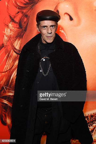 Judy Blame arrives for the opening of Hair by Sam McKnight exhibition at Somerset House on November 1 2016 in London England
