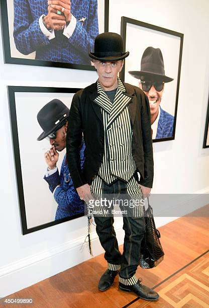 Judy Blame attends the opening party of Return of the Rudeboy at London's Somerset House The exhibition opens to the public on Friday 13th June and...