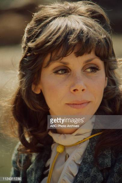 Judy Carne appearing in the Walt Disney Television via Getty Images series 'Alias Smith and Jones' episode 'The Root of It All'