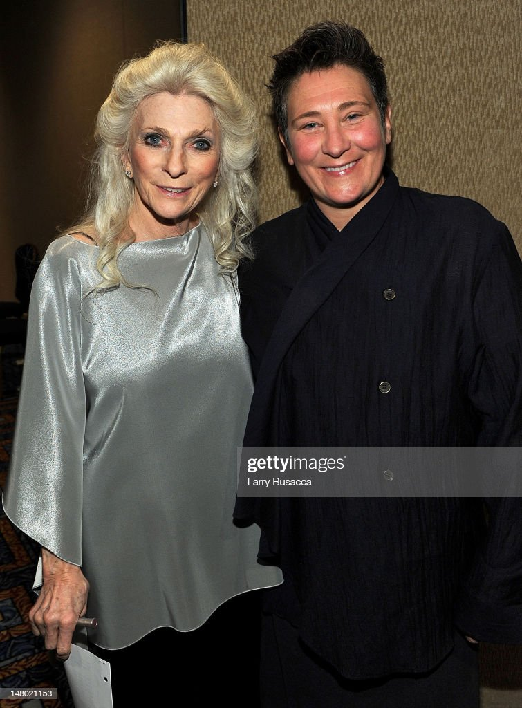 Judy Collins and k.d. lang attend the 41st Annual Songwriters Hall of Fame Ceremony at The New York Marriott Marquis on June 17, 2010 in New York City.