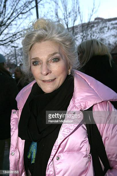 Judy Collins during 2006 Sundance Film Festival 'Leonard Cohen I'm Your Man' Screening at Library in Park City Utah United States