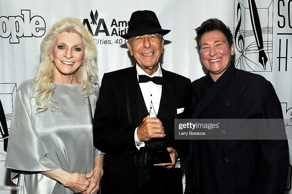Judy Collins, Leonard Cohen and k.d. lang attend the 41st Annual Songwriters Hall of Fame Ceremony at The New York Marriott Marquis on June 17, 2010 in New York City.