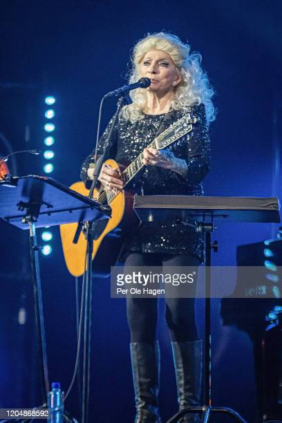 Judy Collins performs Winter Stories with Jonas Fjeld and the Chatham County Line on stage at The National Opera House in Oslo Norway