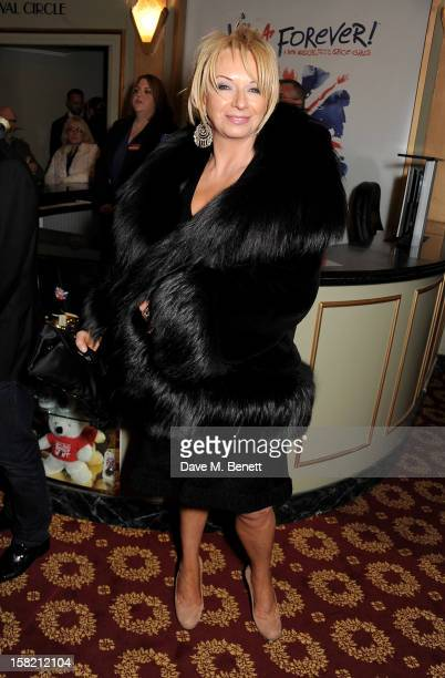Judy Craymer arrives at the Gala Press Night performance of 'Viva Forever' at the Piccadilly Theatre on December 11 2012 in London England