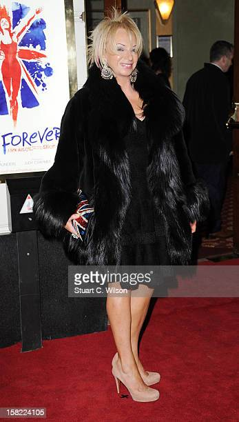 Judy Craymer attends the press night of 'Viva Forever' a musical based on the music of The Spice Girls at Piccadilly Theatre on December 11 2012 in...