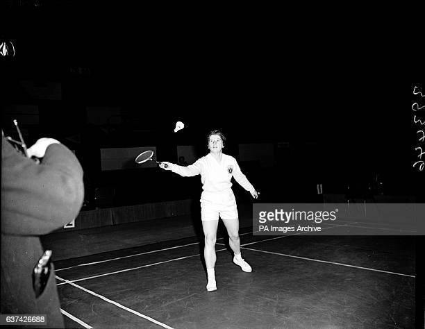 Judy Devlin in action