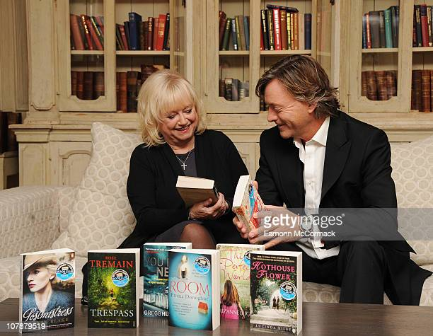 Judy Finnegan and Richard Madeley attend photocall for The Richard and Judy Book Club at Soho Hotel on January 5 2011 in London England
