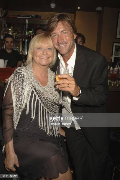 Judy Finnigan and Richard Madeley attend Bill Wyman's 70th birthday party at Ronnie Scotts Jazz club on October 18 2006 in London England