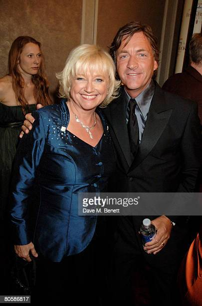 Judy Finnigan and Richard Madeley attend the Galaxy Book Awards at the Grosvenor House Hotel on April 9 2008 in London England