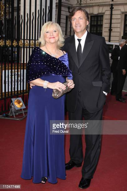 Judy Finnigan and richard Madeley attends the Galaxy British Book Awards at Grosvenor House on April 3 2009 in London England