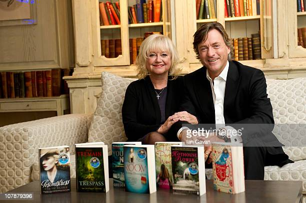Judy Finnigan and Richard Madeley unveil eight new titles for their Spring Book Club at the Soho Hotel on January 5 2011 in London England