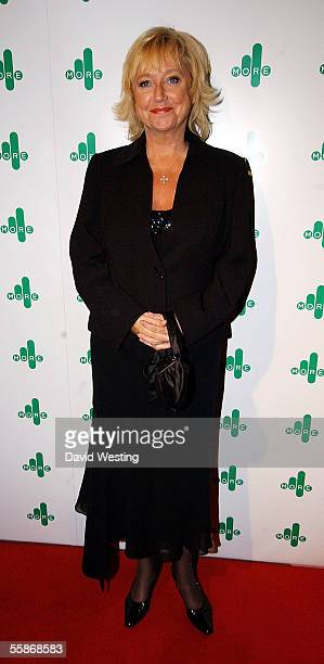 Judy Finnigan attends the MORE4 TV Launch Party launching Channel 4's adult entertainment digital channel at The Shunt Vaults on October 6 2005 in...