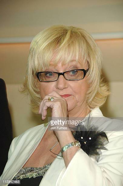 Judy Finnigan during Galaxy British Book Awards 2007 Nominations at Sketch in London Great Britain