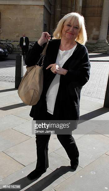 Judy Finnigan sighting on February 27 2015 in London England