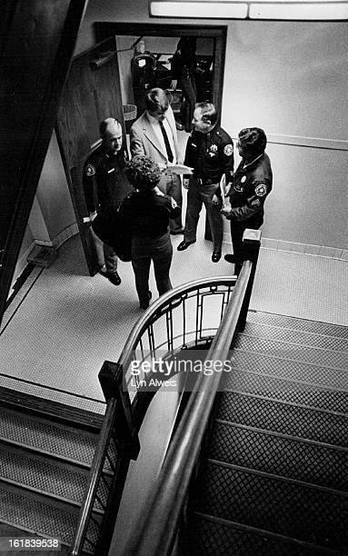 MAR 2 1981 MAR 3 1981 Judy Flesher Sam Burnham Bruce Lampert Atty Capt Frank Forsyth Chuck Enriquez