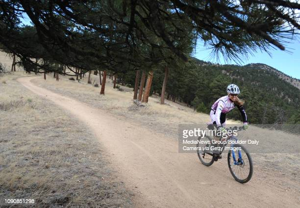 Judy Freeman rides the Canyon Loop Trail at Betasso Preserve on Tuesday The Boulder County Parks and Open Space department is taking public comment...