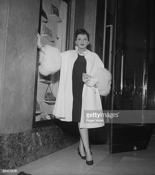 Judy Garland , American actress. Paris, September, 1960. RV-722532