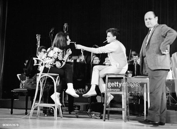Judy Garland and her daughter Liza Minnelli are returning to the London Palladium for a repeat performance of their gala 'Judy and Liza at the...