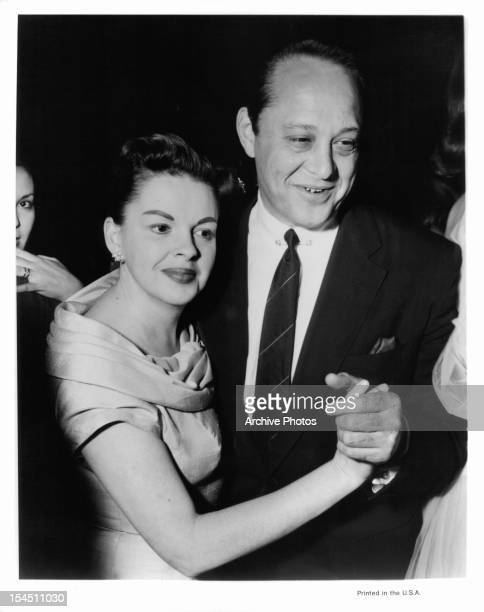 Judy Garland and Sidney Luft circa 1952