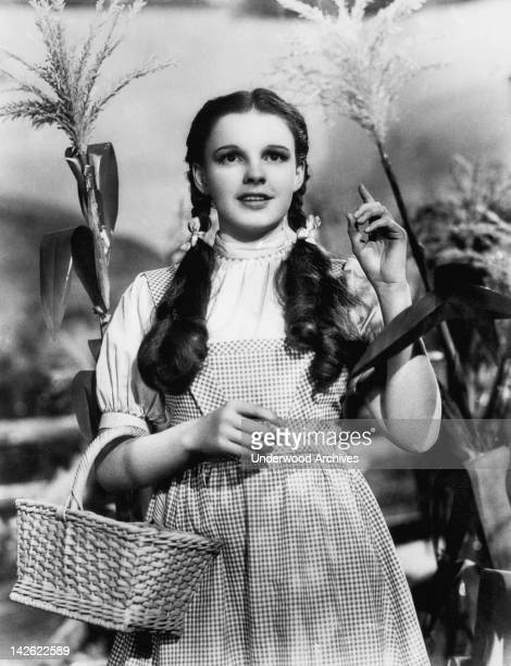 Judy Garland begins her journey in the Wizard of Oz Hollywood California 1939