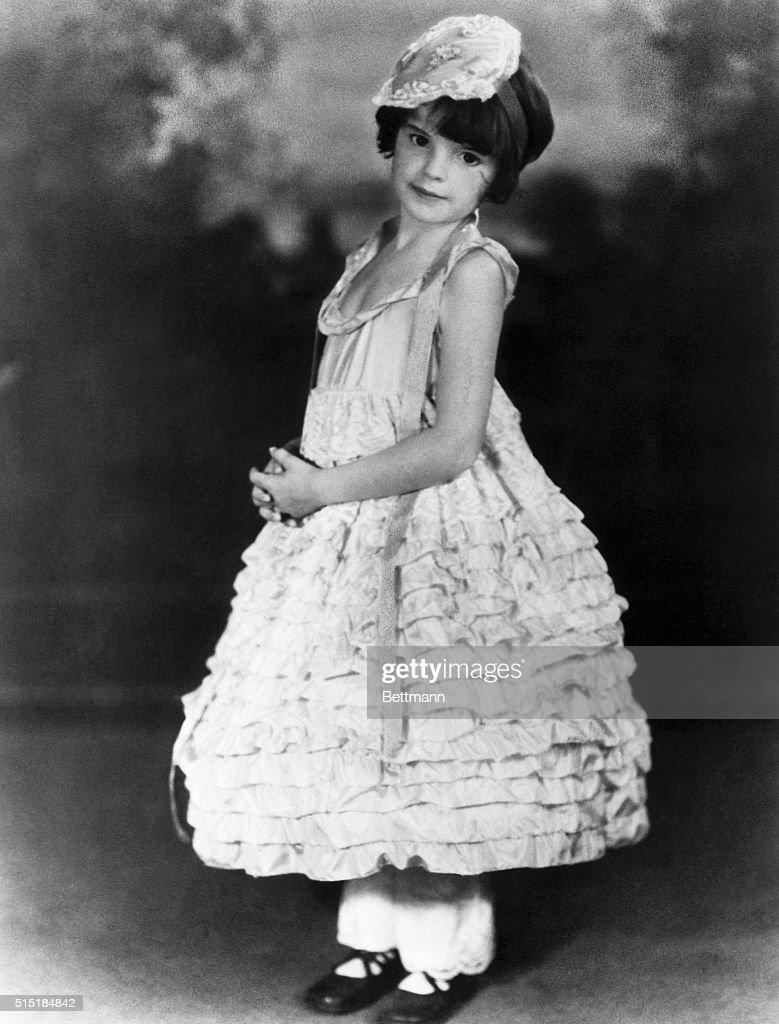 Judy Garland Wearing Ruffles @ 5-Yrs-Old : News Photo