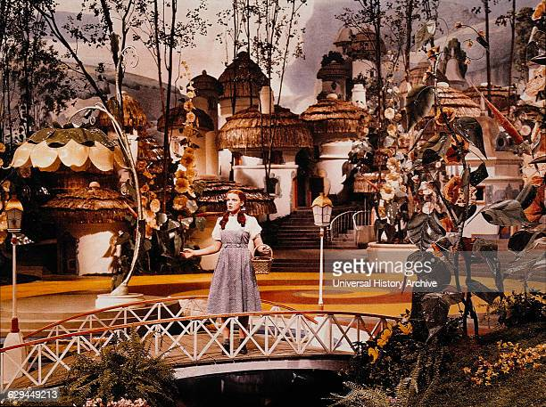 Judy Garland onset of the Film The Wizard of Oz 1939