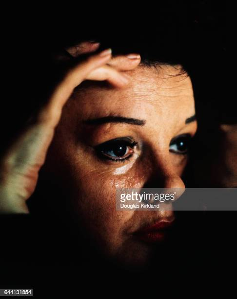 Judy Garland Shedding Tear