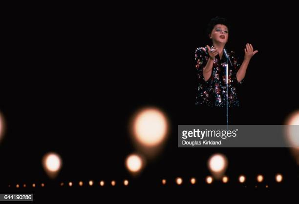 Judy Garland Singing on Stage