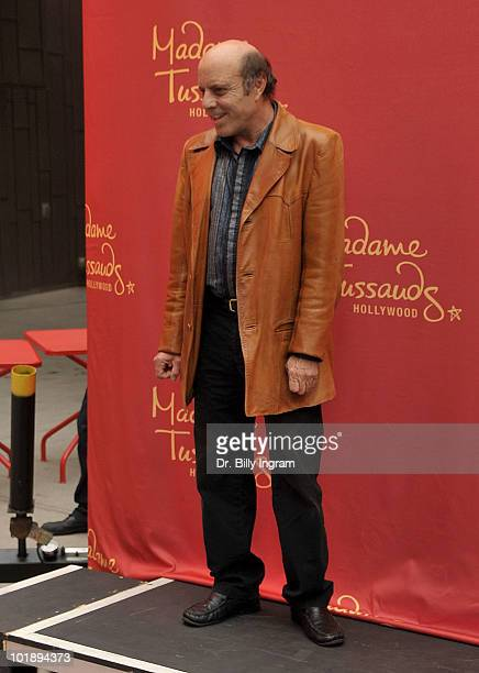 Judy Garland's son Joey Luft attends the Judy Garland wax figure unveiling at Madame Tussauds on June 8 2010 in Hollywood California
