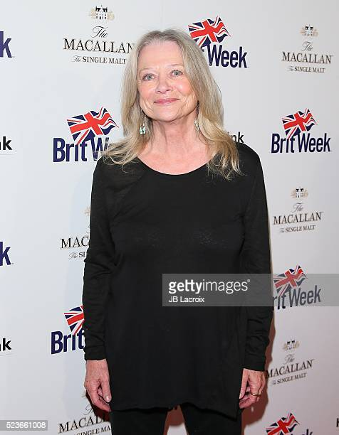 Judy Geeson attends BritWeek's 10th Anniversary with a performance of 'Murder Lust and Madness' at the Wallis Annenberg Center for the Performing...