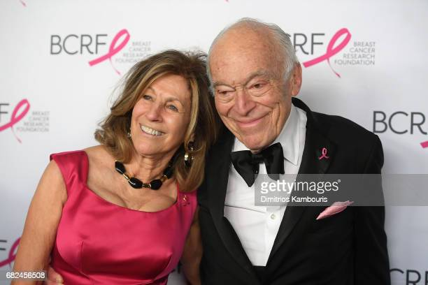 Judy Glickman Lauder and Leonard Lauder attend The Breast Cancer Research Foundation's 2017 Hot Pink Party at the Park Avenue Armory on May 12 2017...