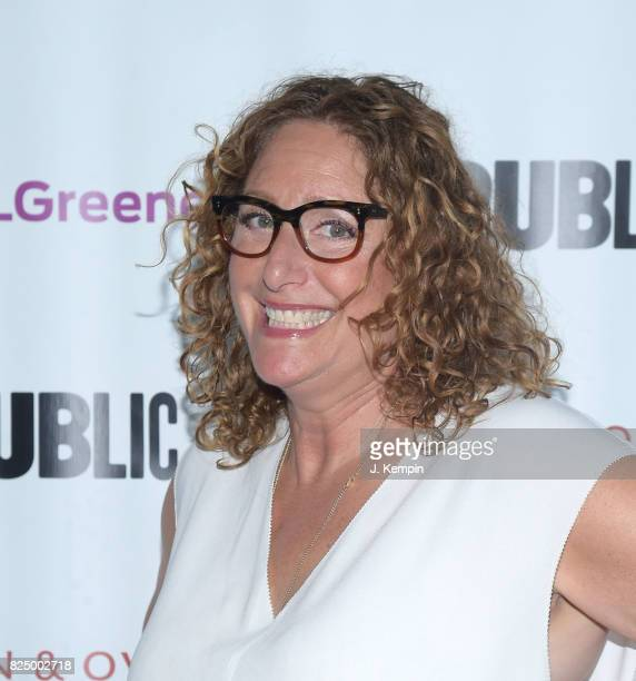 Judy Gold attends 'A Midsummer Night's Dream' Opening Night at Delacorte Theater on July 31 2017 in New York City