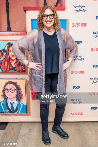 Judy Gold attends FX's Better Things Season 4 Premiere at the Whitby Hotel on March 04 2020 in New York City