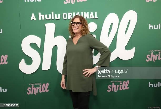 Judy Gold attends Hulu's Shrill New York Premiere at Film Society of Lincoln Center Walter Reade Theater on March 13 2019 in New York City