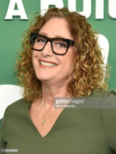 Judy Gold attends Hulu's Shrill New York Premiere at Walter Reade Theater on March 13 2019 in New York City