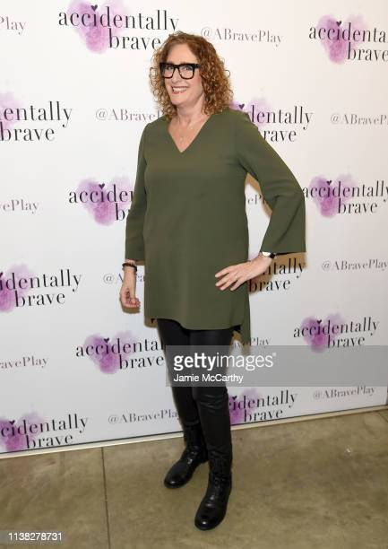 Judy Gold attends the Accidentally Brave Opening Night at DR2 Theatre on March 25 2019 in New York City