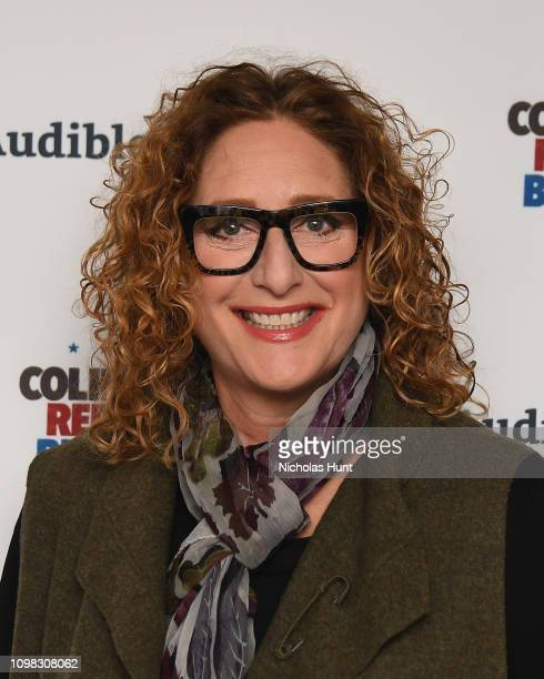 Judy Gold attends the Colin Quinn Red State Blue State Opening Night at the Minetta Lane Theatre on January 22 2019 in New York City