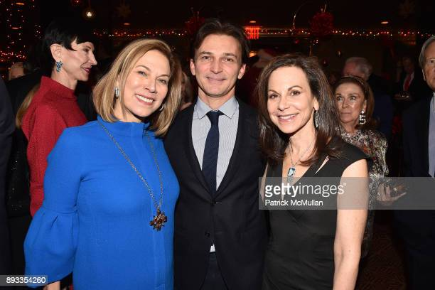 Judy Gordon Cox Marco Zilkha and Bettina Zilkha attend A Christmas Cheer Holiday Party 2017 Hosted by George Farias Anne and Jay McInerney at The...
