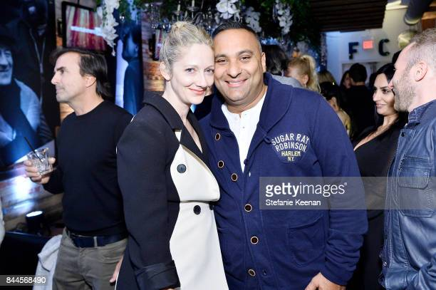 Judy Greer and Russell Peters attend eONE TIFF party hosted by GREY GOOSE Vodka on September 8 2017 in Toronto Canada