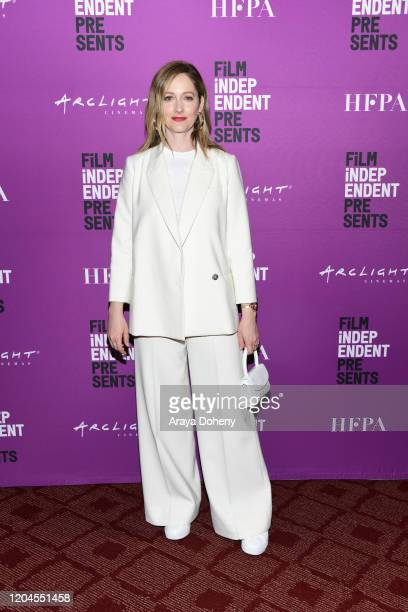 """Judy Greer at the Film Independent Screening Series Presents """"Kidding"""" at ArcLight Hollywood on February 06, 2020 in Hollywood, California."""