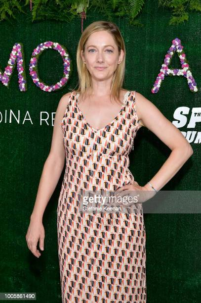 Judy Greer attends Adina Reyter Friendship Bracelet Launch at Soho House on July 26, 2018 in West Hollywood, California.