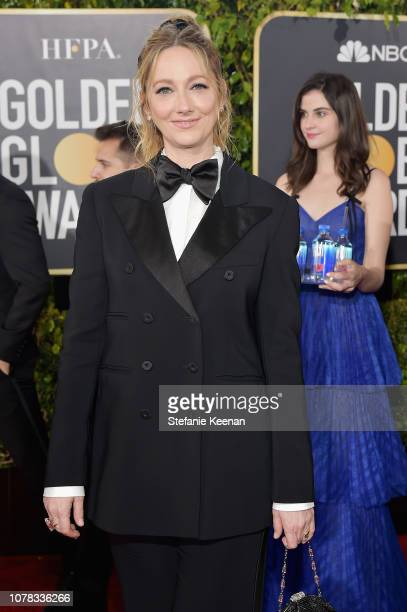Judy Greer attends FIJI Water at the 76th Annual Golden Globe Awards on January 6 2019 at the Beverly Hilton in Los Angeles California