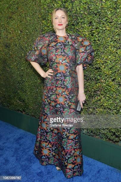 Judy Greer attends the 24th annual Critics' Choice Awards at Barker Hangar on January 13, 2019 in Santa Monica, California.