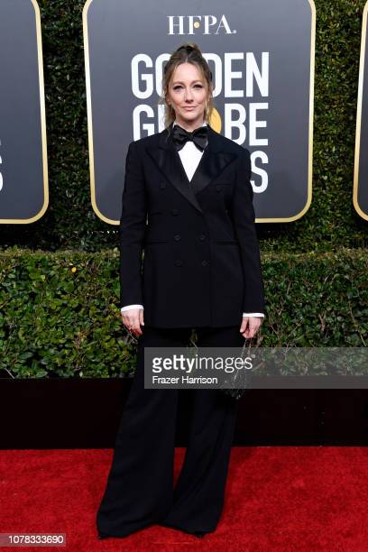 Judy Greer attends the 76th Annual Golden Globe Awards at The Beverly Hilton Hotel on January 6 2019 in Beverly Hills California